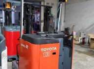 Refurbished Toyota 7FBR13 Forklift For Sale in Singapore