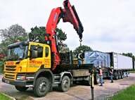 Used Scania P380 Lorry Crane For Sale in Singapore