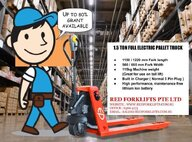 New EP Equipment EPL153 Pallet Truck For Sale in Singapore