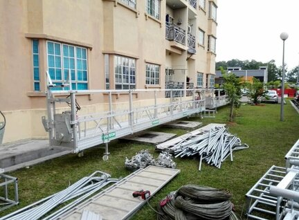 New Fixator Suspended platform on mast Mast Climber For Sale in Singapore