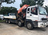 Used Palfinger Sany PK850002H Lorry Crane For Sale in Singapore