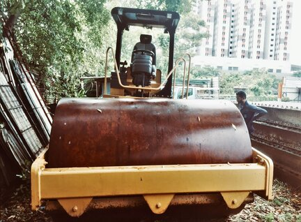 Used Caterpillar (CAT) CS533E Road Roller For Sale in Singapore