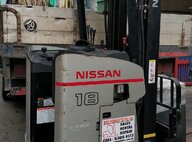 Used Nissan WY1R1L18U Reach Truck For Sale in Singapore