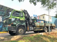 Used Hiab 400E-5 Lorry Crane For Sale in Singapore