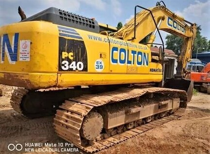 Used Komatsu PC340LC-7 Excavator For Sale in Singapore