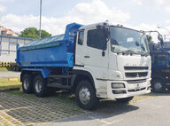 Used Mitsubishi FV51JJD4RDEA Dump Truck For Sale in Singapore