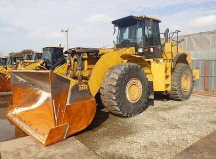 Used Caterpillar (CAT) 980H Loader For Sale in Singapore