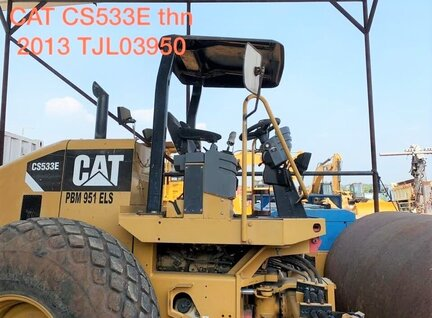 Used Caterpillar (CAT) CS533E Compactor For Sale in Singapore