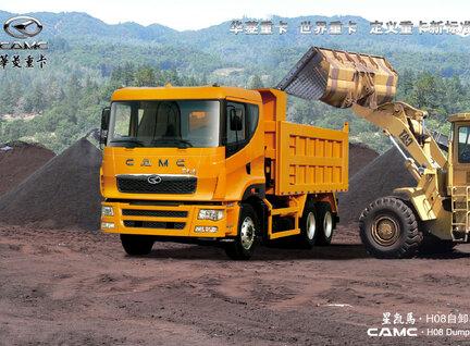 New CAMC 6X4 Dumper Dump Truck For Sale in Qatar