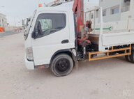 Used Mitsubishi Canter Lorry Crane For Sale in Singapore