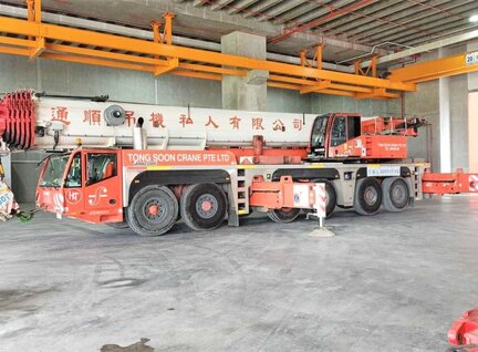Used Demag AC250-1 Crane For Sale in Singapore