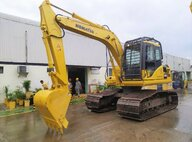 Used Komatsu PC130F-7 Excavator For Sale in Singapore