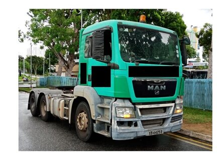 Used MAN TGS 26.400 6X4 BBS Prime Mover For Sale in Singapore