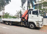 Used Mitsubishi Fuso FV51SS3VDEA Lorry Crane For Sale in Singapore
