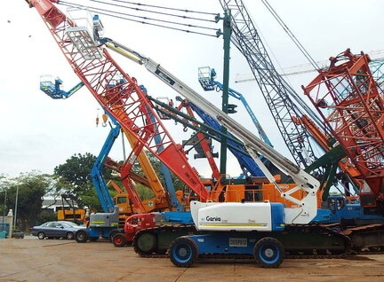 Used Genie Z-80/60 Boom Lift For Sale in Singapore ...