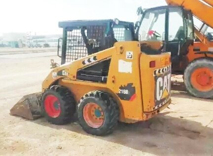 Used Caterpillar (CAT) 216B Skid Steer Loader For Sale in Singapore