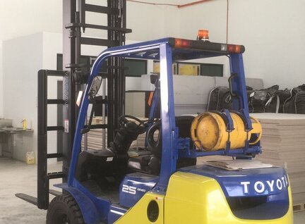 Used Toyota 32-8FG25 Forklift For Sale in Singapore