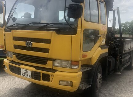 Used Hiab 400-9 Lorry Crane For Sale in Singapore