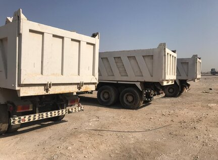 Used JAC HFC3251KR1 Dump Truck For Sale in Singapore