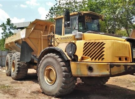 Used Volvo A40D Dump Truck For Sale in Singapore