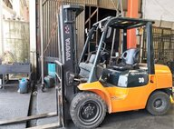 Refurbished Toyota 62-7FD30 Forklift For Sale in Singapore