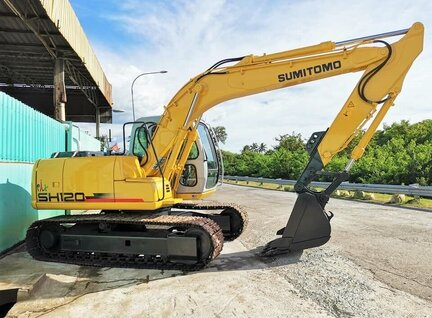 Refurbished Sumitomo SH120-3 Excavator For Sale in Singapore