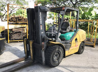 Used Komatsu FD50AYT-10 Forklift For Sale in Singapore