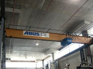Used ABUS 6.3T Single Girder Overhead Crane  Crane For Sale in Singapore