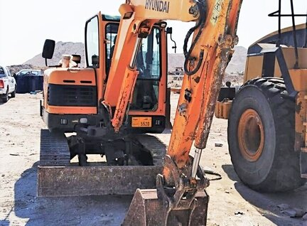Used Hyundai Robex 60-9S Excavator For Sale in Singapore