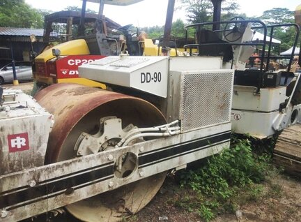 Used Ingersoll Rand DD90 Road Roller For Sale in Singapore
