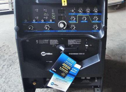 New Miller Syncrowave 350 LX Welding Machine For Sale in Singapore