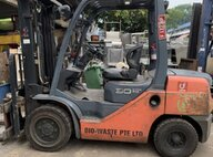 Used Toyota 62-8FD30 AUTO Forklift For Sale in Singapore