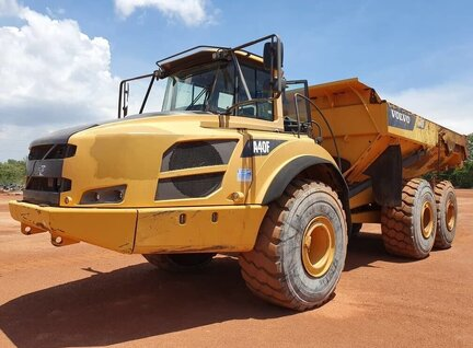 Used Volvo A40F Dump Truck For Sale in Singapore