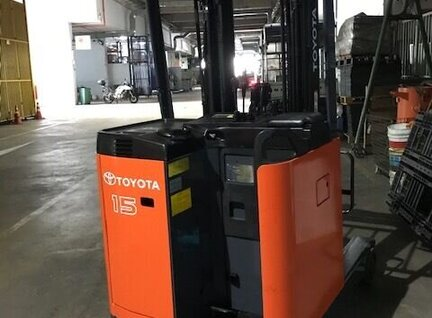 Refurbished Toyota 7FBR15 Reach Truck For Sale in Singapore