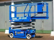 Used Genie GS1530 Electric Scissor Lift Scissor Lift For Sale in Singapore